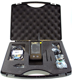 2G/3G/4G Signal Test Model with carrying case.